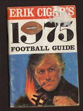 Erik Cigars--1975 Pro Football Guide/Schedule Booklet