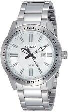 Citizen Men's Quartz BI1060-52A Silver-Tone Stainless Steel Bracelet 43mm Watch