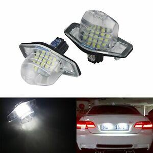 2x Canbus LED License Number Plate Light For Honda Crosstour CR-V FR-V HR-V Jazz