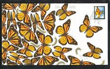 bq. MONARCH Butterfly = Insects = attractive  FDC, OFDC Canada 2014 NEW