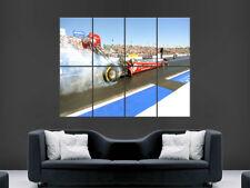 Drag Racing POSTER AUTO DRAGSTER USA velocità Wall Art Print PICTURE FUMO GIGANTE