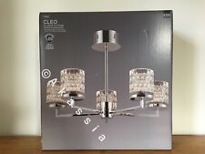 Next Cleo LED 5 Light Fitting Chandelier rrp £130
