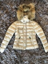 Moncler Armoise Down Jacket with Fur Size 0