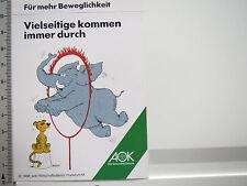 Aufkleber Sticker AOK - Krankenkasse - Gesundheitskasse 1 (5222)