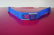 14 x  Trend Watch Silikon Uhr LED Digital Uhr Unisex Hip rote LED Royalblau