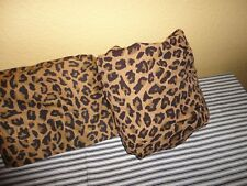 HOME TREASURES ARAGON LEOPARD ANIMAL BROWN GOLD (2PC) TWIN FITTED & FLAT SHEET
