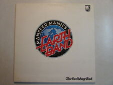 MANFRED MANN'S EARTH BAND GLORIFIED MAGNIFIED GATEFOLD 1972 UK 6308 125 OOP LP