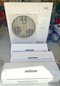 YMGI 40000 BTU 5 Zone Ductless Mini Split air conditioner With Heat Pump SKA