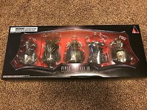 Final Fantasy XII The Zodiac Age Collector's Judge Magisters Mini Bust Set ONLY