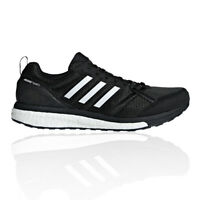 adidas Mens Adizero Tempo 9 Running Shoes Trainers Sneakers Black White Sports
