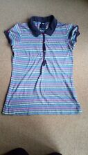 Ladies 55 DSL stripped polo shirt size S good condition