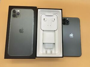Apple iPhone 11 Pro Max - 512GB - MidnightGreen (Unlocked) A2161 (CDMA + GSM)