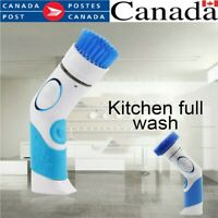 Electric Cleaning Brush Scrubbing Scrub Cordless Power Spin Kitchen Bathroom