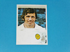 #115 JOHNNY GILES LEEDS UNITED IRELAND FKS PANINI FOOTBALL ENGLAND 1975-1976