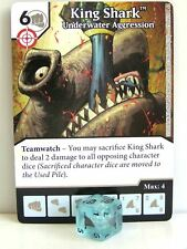 Dice Masters - 2x #025 King Shark Underwater Aggression - Green Arrow