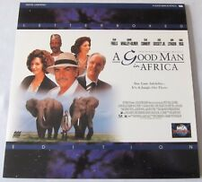 LASERDISC - NTSC - A GOOD MAN IN AFRICA - with Sean Connery