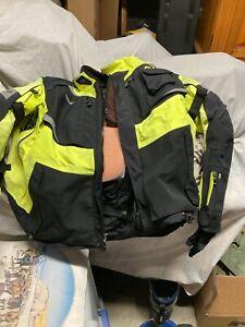 klim badlands jacket hi-viz XL