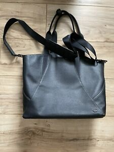 LULULEMON ALL DAY TOTE! SMALL! BLACK