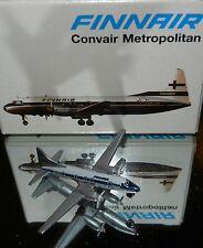Schabak 1:600 Scale Diecast 933-59 Finnair Convair Metropolitan CV-240 New