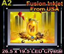 A2 LED Slim Crystal Light Box movie picture 26.5 x 19.5 Poster sign Display gg