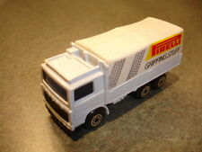 1984 Collectible Diecast Matchbox MB 49 Volvo Tilt Truck Toy With Box