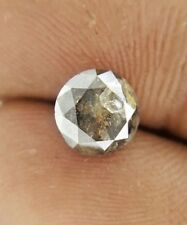 Real Natural Diamond SI1 1.56TCW 7.0 MM Salt Pepper Round Brilliant cut for Gift