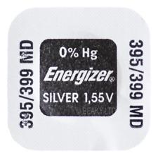 Genuine Energizer 395 SR927SW SB-AP Silver Oxide Watch Battery 1.55v [1-Pack]