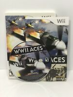 WWII Aces (Nintendo Wii, 2008) Complete / Teated
