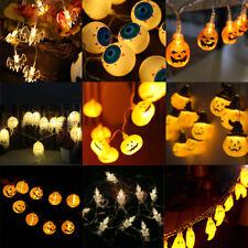 Pumpkin Ghost Skull LED String Lights Halloween Home Decoration Party Light US