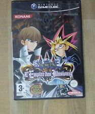 YU-GI-OH L'EMPIRE DES ILLUSIONS  JEU NINTENDO GAMECUBE WII complet