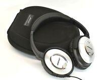 Bose Quiet Comfort 15 Acoustic Noise Cancelling Headphones w/ Case QC15 Nice