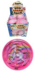 MAZE Unicorn Puzzle Pink Unicorns Travel Toy Party Bag Pocket Money