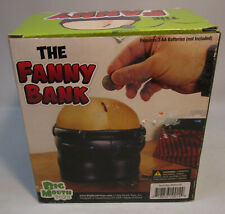 "Big Mouth Toys ""The FANNY BANK"" Farting Sound Bank"