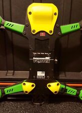 Vortex 250 Pro by ImmersionRC 5 Piece Skid Plate Set 3D Printed YELLOW