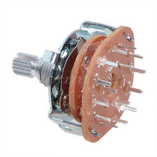 2 pcs 4 Way Guitar Amplifier Rotary Switch For Custom Wiring 4Way Switch
