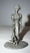 The Gibson Girl 1876-1895 Franklin Mint Fine Pewter 1974