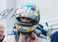 Bruno Senna Hand Signed 7x5 Photo F1.