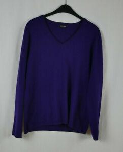 Damen GERRY WEBER EDITION Traumhafter Pullover Lila KASCHMIR + SEIDE Größe 42/44