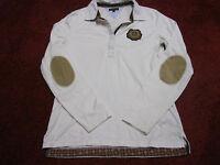 Tommy Hilfiger Damen Shirt/Bluse.Gr.M/38.Creme/Beige.100%-Cotton