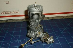 OLD VINTAGE -SUPER CYCLON- .60 CONTOL LINE FREE FLIGHT  MODEL AIRPLANE ENGINE