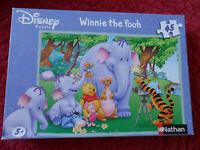 Puzzle Winnie L'Ourson - 45 pièces - Nathan - 5+ - Winnie the Pooh