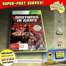Brothers in Arms Hell's Highway Xbox 360 (NEW!) PAL game made for AUSSIE console