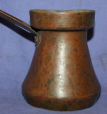 Vintage handcrafted copper coffee pot
