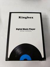 New Kingbox MP3 player 32GB Music Digital Audio FM Radio Loudspeaker Video