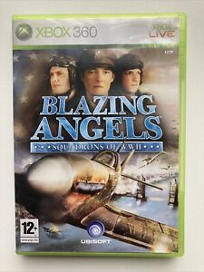 Blazing Angels Xbox 360 Squadrons of WWII with Manual **PLAYABLE ON XBOX ONE**