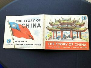 1950's*THE STORY OF CHINA*NO47 PUFFIN PICTURE BOOKTOLD BY TSUI CHI PENGUIN BOOKS