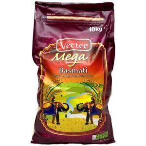 Veetee - Mega - Basmati - Extra langer Premium Reis - 10kg