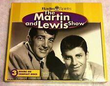 RARE NEW 3 CD SET THE DEAN MARTIN & JERRY LEWIS RADIO COMEDY SHOW RADIO SPIRITS