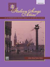 26 Italian Songs & Arias. Med/high. Bk; Paton, John Glenn (editor). - 3402