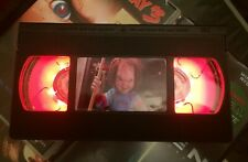 Chucky Childs Play Night Light, Horror, Desk Lamp, Movie, VHS, Gift, Office, TV